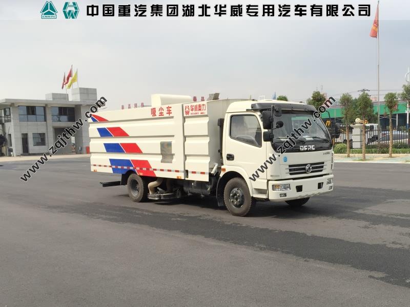 东风7吨吸尘车图片