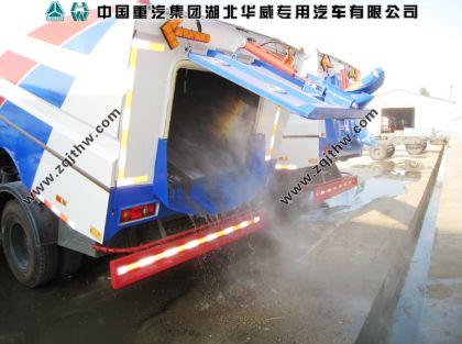 东风天锦路面洗扫车图片