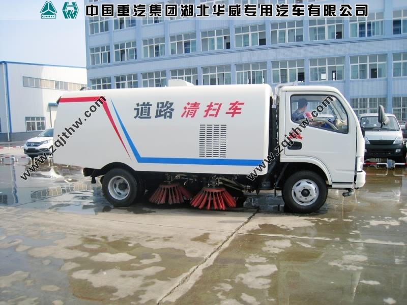 东风系列小型垃圾清扫车图片