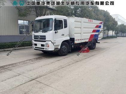 东风天锦柴油国五扫路车图片