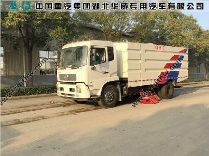 东风天锦国五柴油扫路车