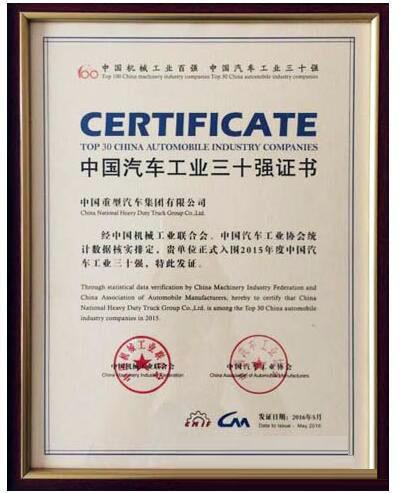 中国重汽集团,汽车工业,扫路车,洗扫车