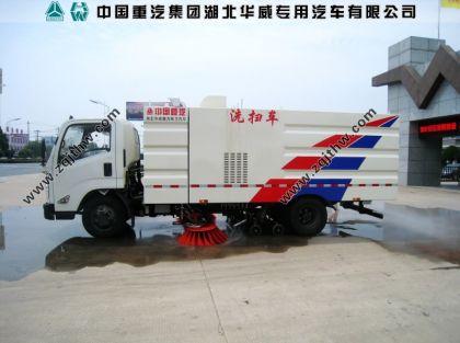 江铃N800国五洗扫车