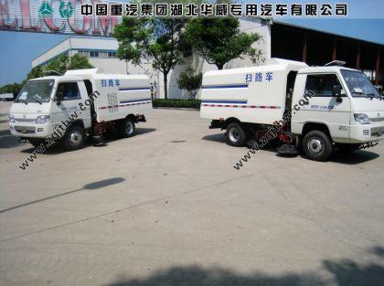 福田扫地车图片