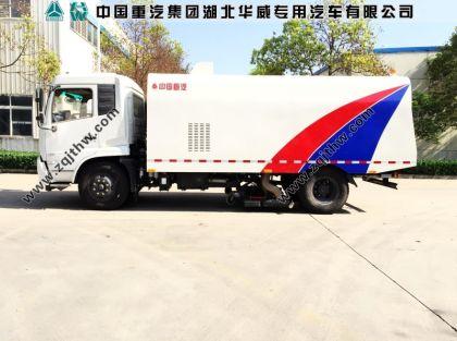 东风天锦纯吸式扫路车