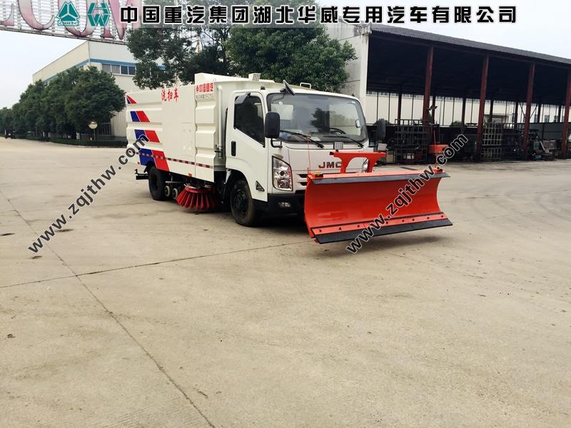 江铃凯锐N800洗扫车(国五,选配雪铲)