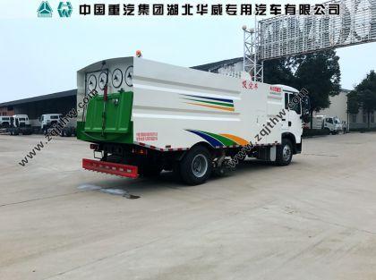 重汽T5G纯吸式扫路车