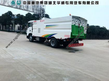 重汽T5G吸尘车配置