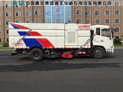 东风天锦国五洗扫车