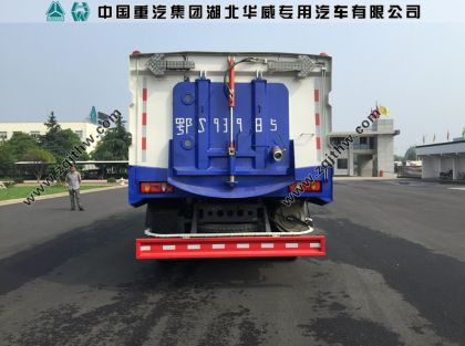 东风天锦清洗扫路车
