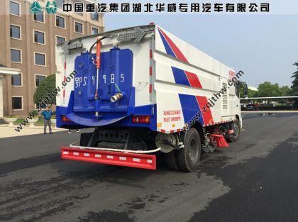 东风天锦大型洗扫车