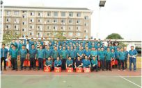 华威公司工会开展趣味运动会 鼓足干劲促生产