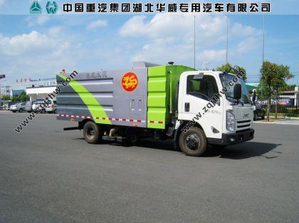 江铃N800凯锐吸尘车(国五6立方)