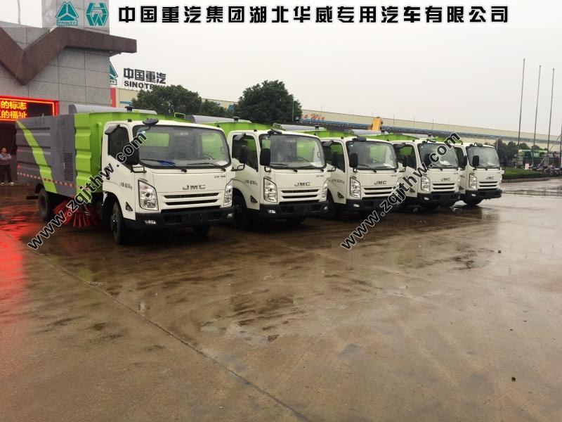 江铃凯锐N800扫地车(国五6.5立方)