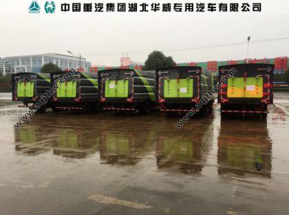 江铃凯锐N800清扫车批量出厂