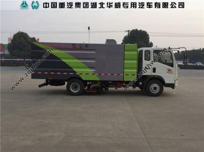 重汽SGZ5100TXCZZ5吸尘车