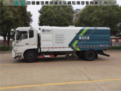 东风天锦国六吸尘车