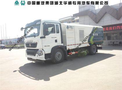 重汽T5G清扫车图片