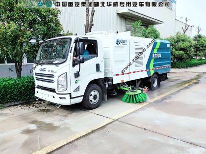 江铃凯锐N800清洗扫路车图片