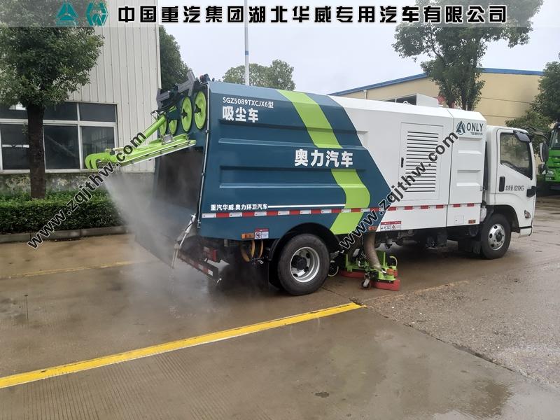江西自立环保江铃N800吸尘车案例