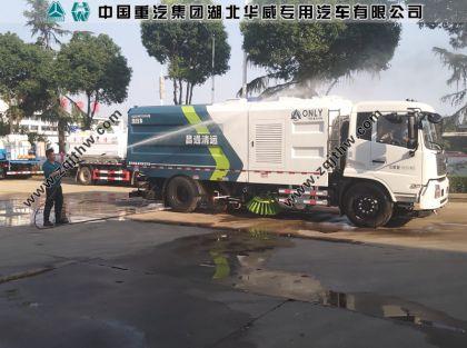 昌通清运东风天锦洗扫车案例